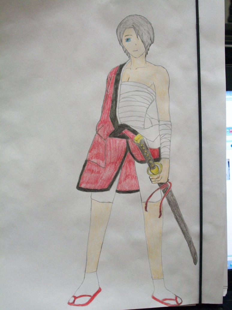 Liam - Kimono de batalla by Keylix-sama on DeviantArt