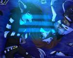 Feeling Blue by MittensTheNoble