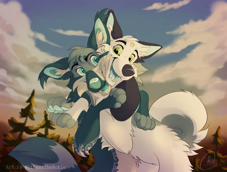 YCH: Hug
