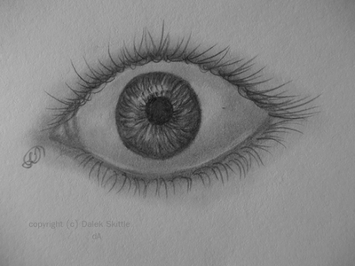 Eye Sketch by CPiznotCOOL