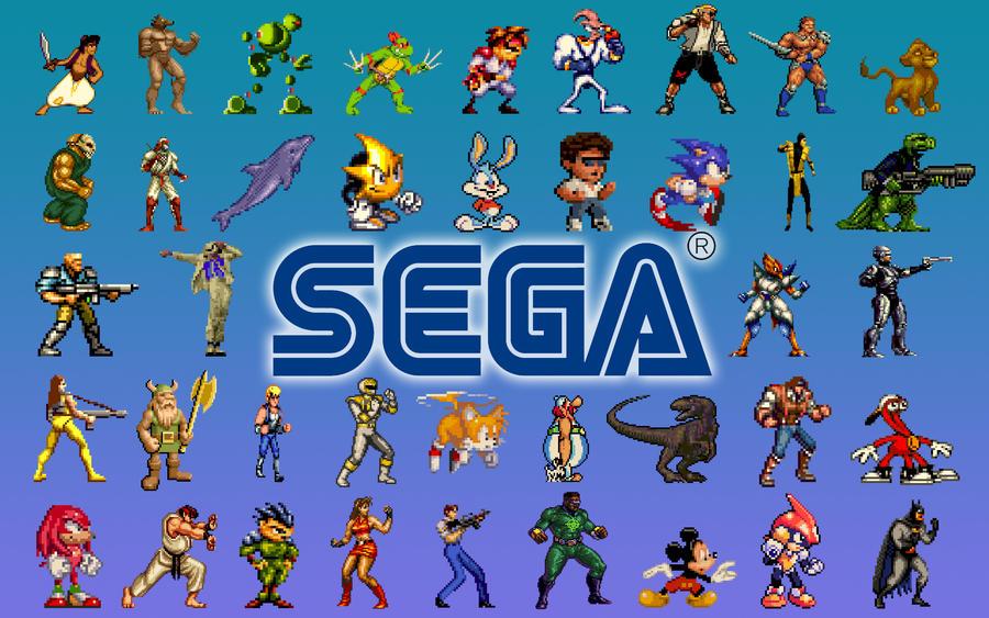 SEGA Genesis Wallpaper 2 by SolidAlexei
