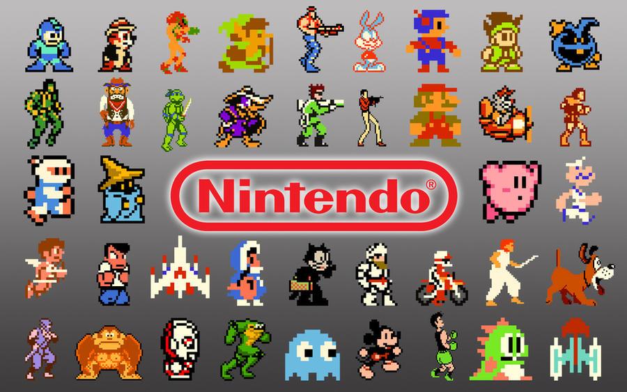 Nintendo NES Wallpaper by SolidAlexei