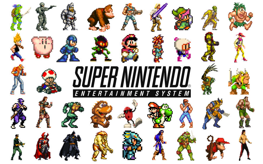 Nintendo Snes Wallpaper 1 By Solidalexei On Deviantart