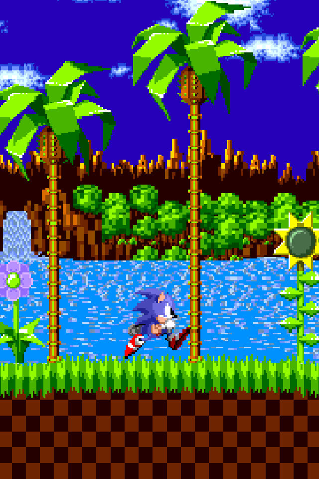 Sonic The Hedgehog Iphone Wallpaper Retina Res By Solidalexei On Deviantart