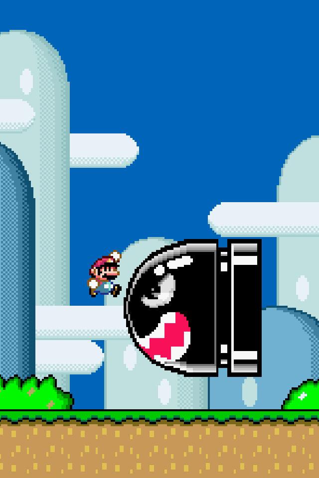 Super Mario World Iphone Wallpaper Retina Res By Solidalexei On Deviantart