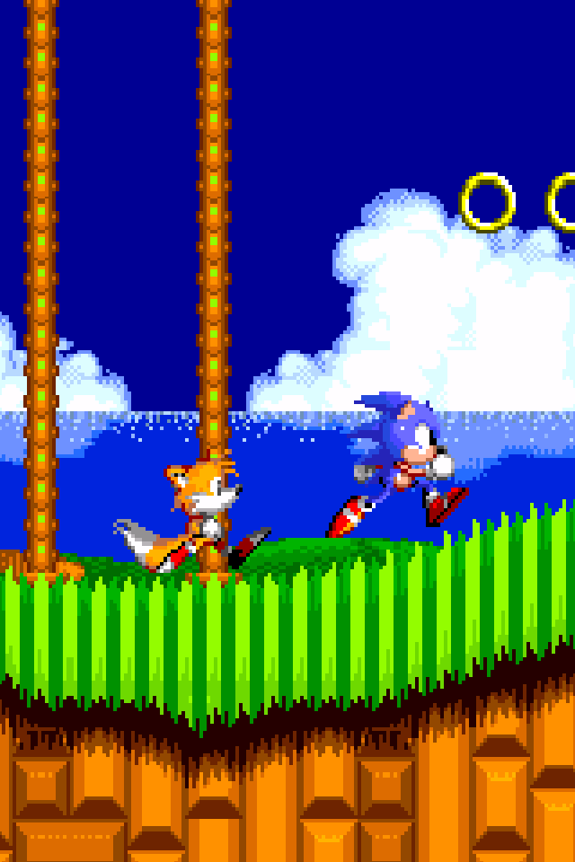 Sonic The Hedgehog 2 Iphone Wallpaper Retina Res By Solidalexei