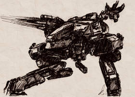 Metal Gear Art Studio - Rex 4 by SolidAlexei