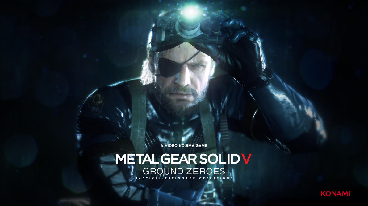 Metal Gear Solid Ground Zeroes Video Game 4k Hd Desktop: Metal Gear Solid 5 Ground Zeroes Wallpaper By SolidAlexei