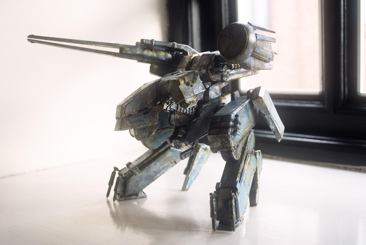 Custom Kotobukiya Metal Gear Rex by SolidAlexei
