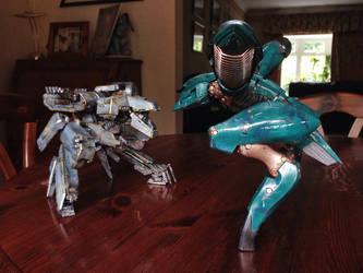 Kotobukiya Metal Gear Ray Custom 3 by SolidAlexei