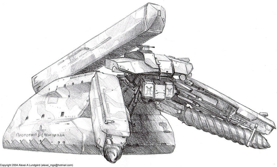 The Shagohod Prototype by SolidAlexei