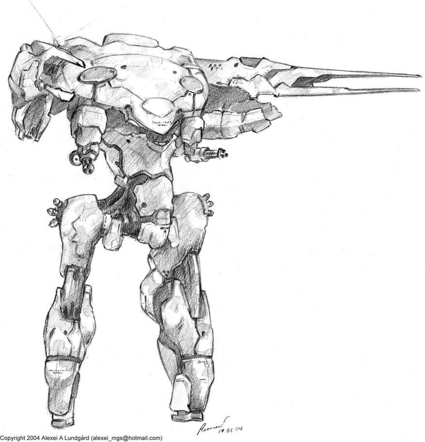 Metal Gear Gander by SolidAlexei