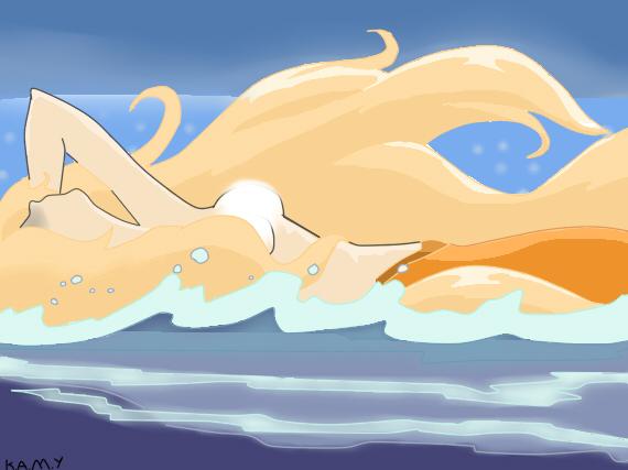 Sara-Mermaid Melody by Medi-2