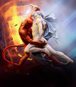 FINAL FIGHT by adrianamusettidavila