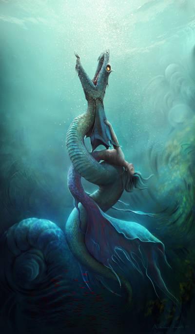 Mystic Dance by adrianamusettidavila
