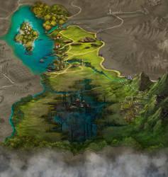 Storie di Esperia - Regional map1 by adrianamusettidavila