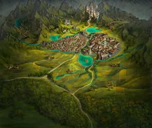 Storie di Esperia - Regional map 4 by adrianamusettidavila
