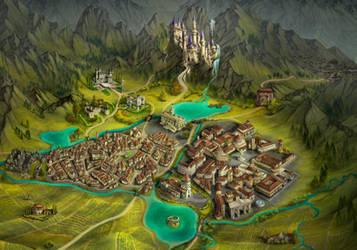 Storie di Esperia - Regional map4 City by adrianamusettidavila