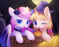 Trick or Treat by Leafywind