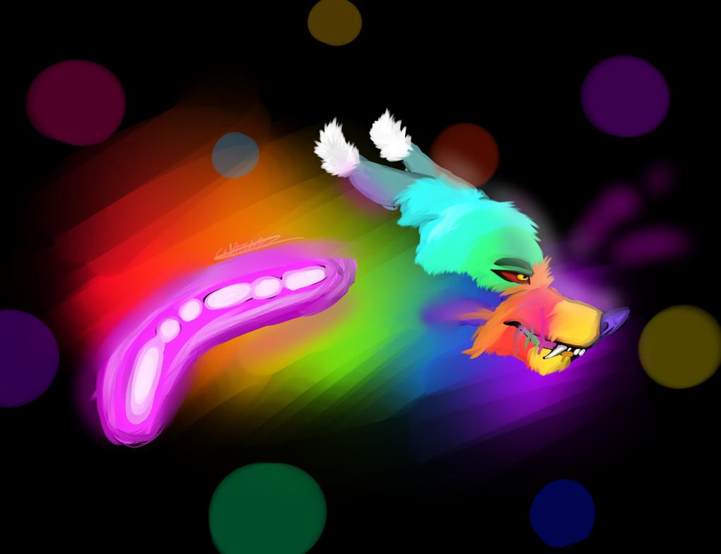 Rainbow Lights by Chavka