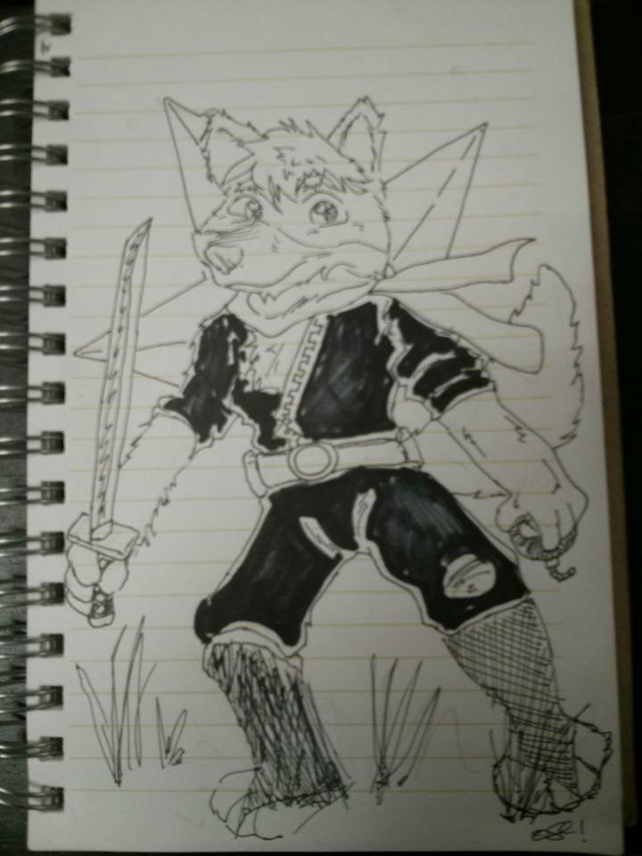Fast Ninja Furry by OtteryStCatchpole