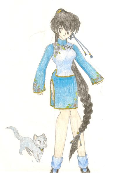 Ranma 1-2 Character by Mistress-DarkLoki
