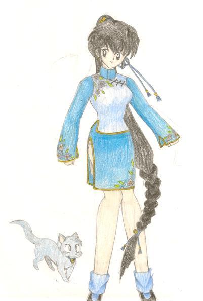 Ranma 1-2 Character by Mistress-DarkLoki