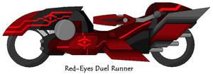 The Red-Eyes Duel Runner