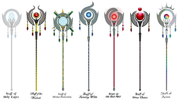 Multi Mage Staffs