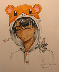 Phichit Chulanont (The hamster XD) by TeamEmoKid