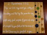 2 Thessalonians 1:11-12