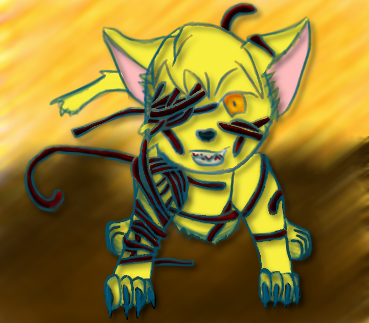 Wesker cat version 1 by FallenAngel1017