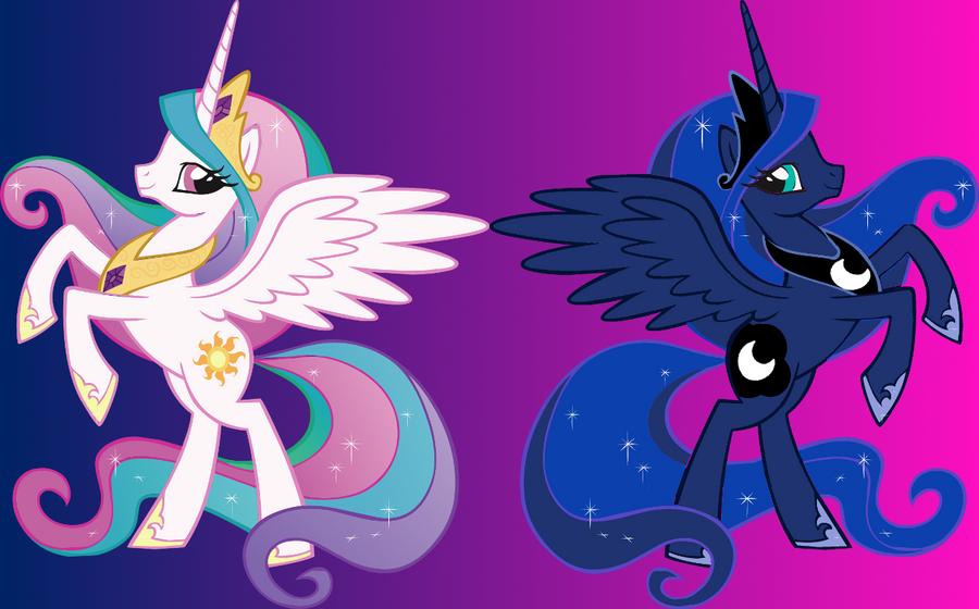 My little pony princess luna and princess celestias parents