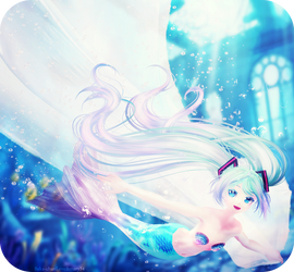 .underwater song. by Baka-neearts