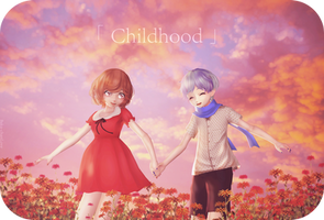 Childhood- by Baka-neearts