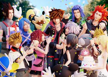Happy Birthday Sora! by Baka-neearts