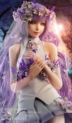 Lavender cherry