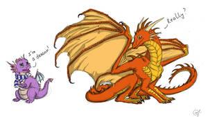 I`m a dragon