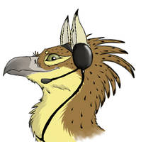 New avatar for Skype by Chickenzaur