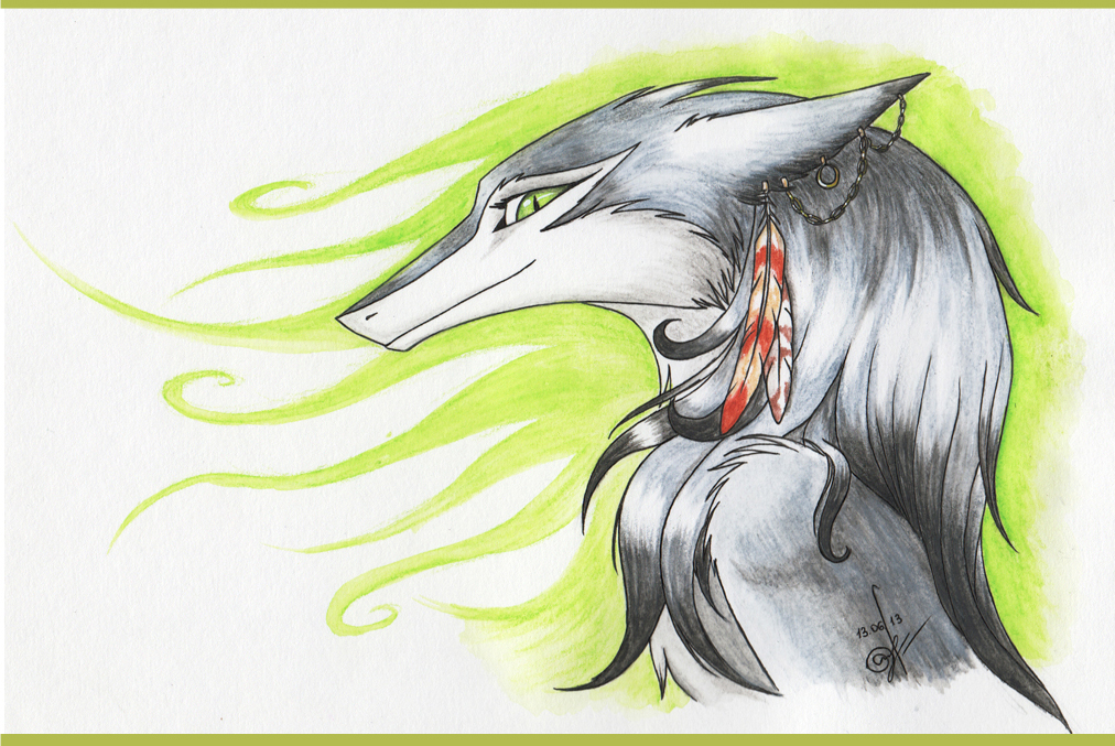 Sergal by Chickenzaur