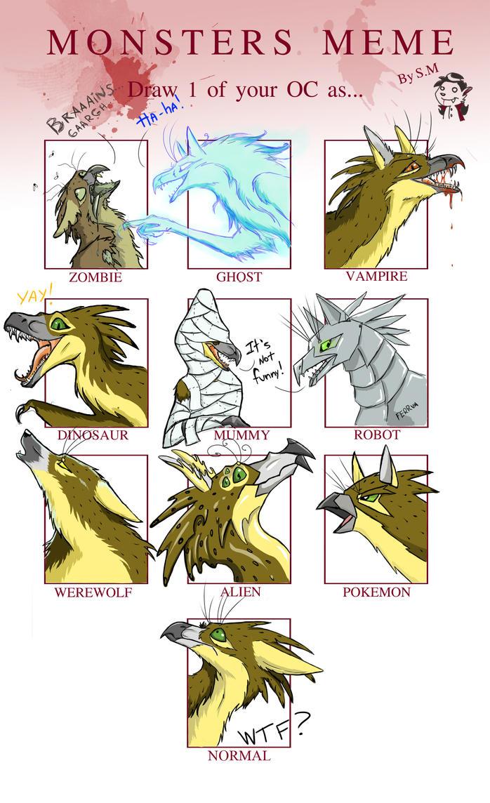 Monsters Meme - Ferris by Chickenzaur