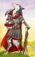 Sun on armor by Chickenzaur