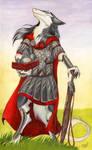 Sun on armor