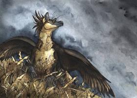 The dark day by Chickenzaur