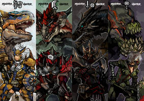 datworks: Monster Hunter .set one by zuqling
