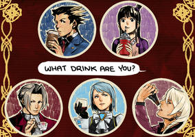 datworks: Ace Attorney badges