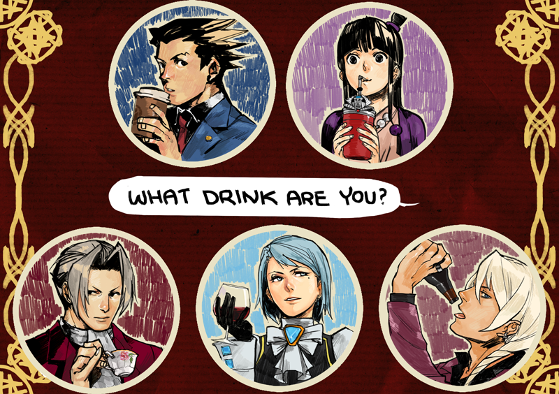 datworks: Ace Attorney badges by zuqling