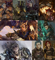 [LoL] champs compilation by zuqling