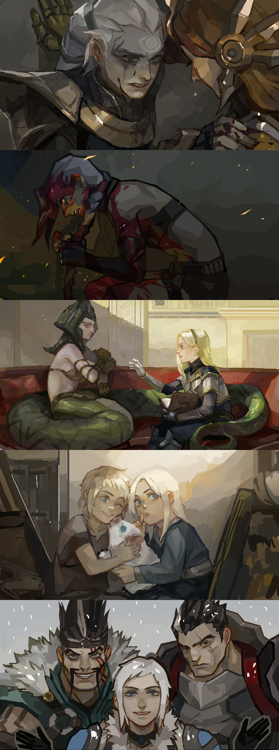 [LoL] champs compilation 3 by zuqling