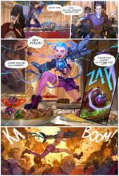 Jinx Colour story by zuqling